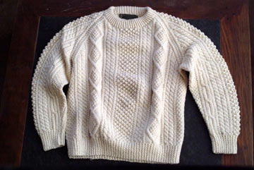 FISHERMANS SWEATER KNITTING PATTERN | Lena Patterns